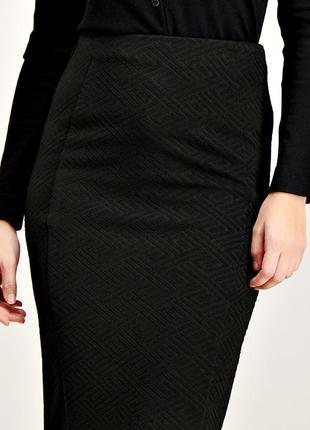 Демисезонная юбка-карандаш из качественной ткани понте р.22-24-26