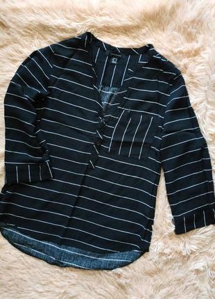 Стильная блуза в полоску