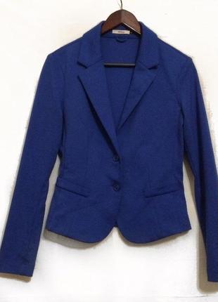 Базовый синий пиджак в стиле кэжуал