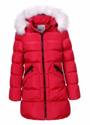 Зимняя курточка на меховой подкладке