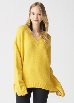Желтый свитер dilvin