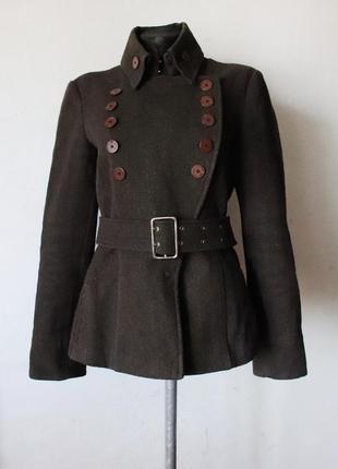 Пальто emporio armani шерсть