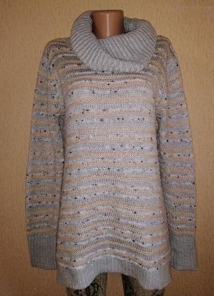 🔥🔥🔥стильный, теплый вязаный женский свитер, кофта, джемпер debenhams🔥🔥🔥