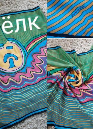 Шелковый платок с репродукцией картины jimmy pike (джимми пайка).
