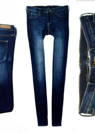 Skinny  low waist &denim by h&м