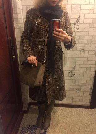 Драповое классическое пальто3