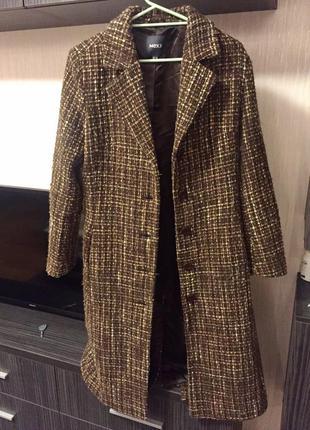 Драповое классическое пальто5