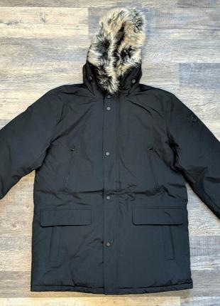 Мужская зимняя теплая брендовая парка куртка пуховик майкл корс michael kors; l