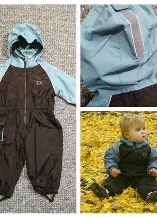 Детский комбинезон-дождевик - отличный дождевик, защитит малыша в любую погоду!