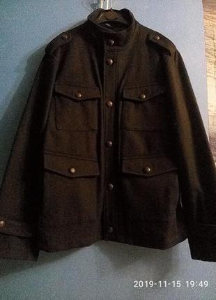 Мужская шертяная куртка пиджак пальто