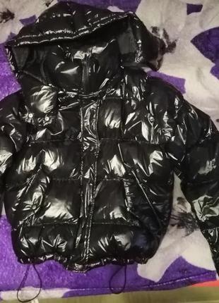 Пуффер, куртка от bershka