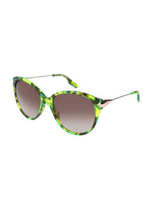 Новые крупные яркие солнцезащитные очки alexander mcqueen