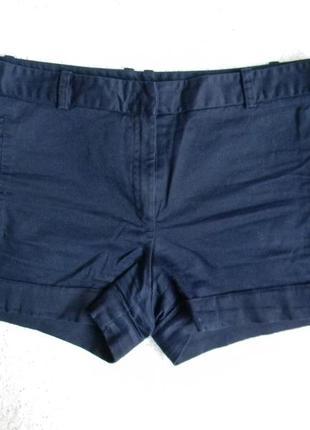 Короткие шортики от zara синего цвета