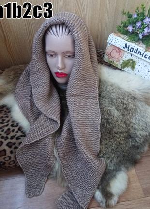 Шарф-косынка ,моделируемый шарф 6 цветов