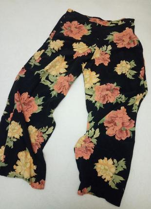 Легкие широкие штаны брюки f&f