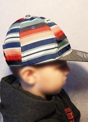 Новая кепка реперка rebel by primark 7-10 лет, 53-56 см. оригинал, сток, бейсболка