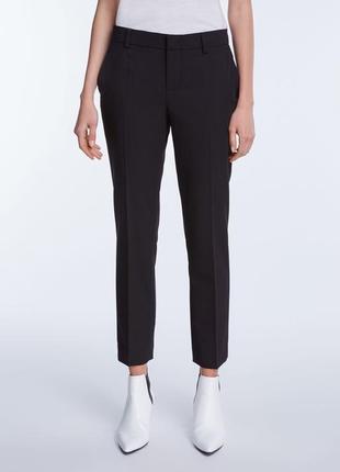 Стильные ♥️😎♥️ чёрные шерстяные брюки set, италия.