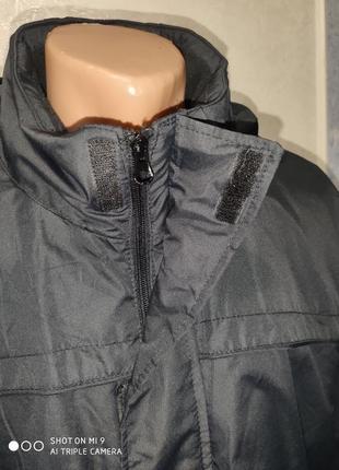 Курточка мембрана на флисе будет на холодную осень евро-зиму