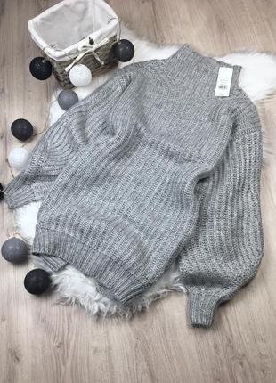Сукня/светр із об'ємними рукавами