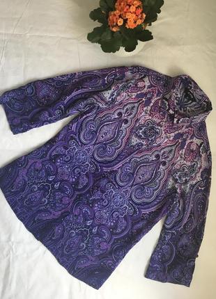 Рубашка в ткрецкий огурец, блуза