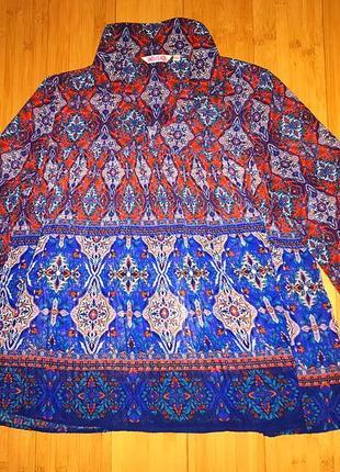 Очень красивая блузка большого размера