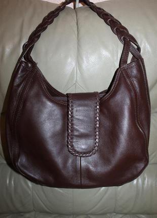 Фирменная сумка из натуральной кожи hotter