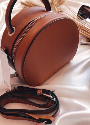 Круглая сумка кроссбоди stradivarius