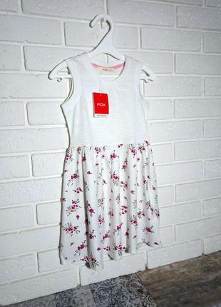 Платье fox 3-4 года 98-104 см