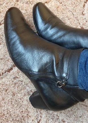 Удобные ботинки боты ботильоны кожа