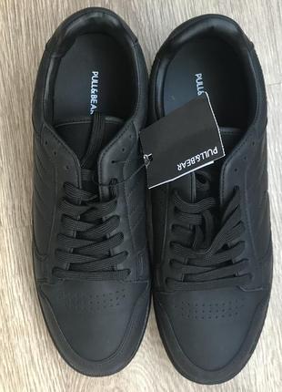 Мужские базовые классические кроссовки pull&bear испания 43 размер