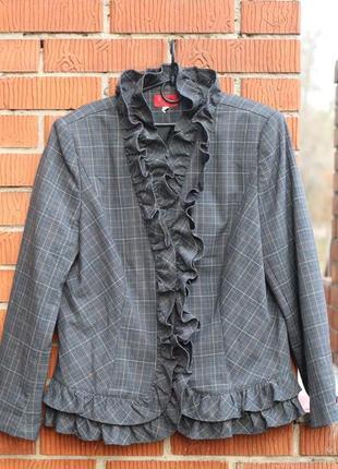 Роскошный пиджак, блейзер edgar vos 54-56