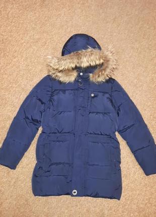 Зимнее пальто, парка, пуховик noble people 146