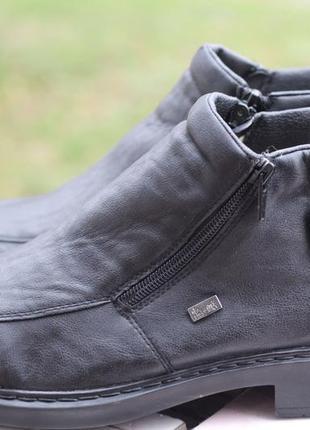 Утепленные термо ботинки rieker tex 42-43