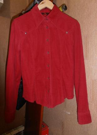 Рубашка микровельветовая .