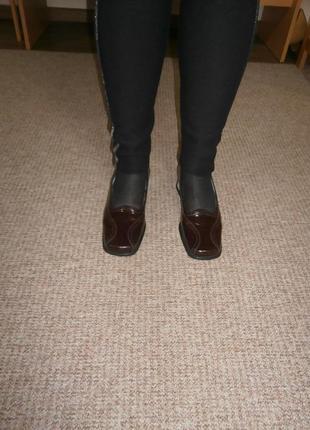 Аккуратные туфли/24,5 см/натуральная кожа|немецкое качество