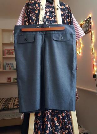 Новая женская серая юбка карандаш юбка миди