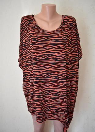Трикотажная блуза с принтом большого размера new look