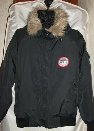 Женская куртка аляска weather report - goose columbia canada