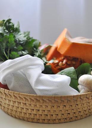 Еко мішечки набір мішечків з сітки фруктовки еко торбинки эко мешочки из сетки