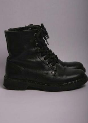 Muylers сапоги на шнуровке кожаные оригинал ботинки тренд сезона