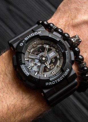 Мужские спортивные часы casio g-shock ga-110-1ber копия