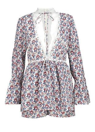 Шикарный платье-комбез от boohoo