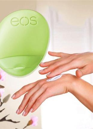 Натуральный увлажняющий, смягчайщий крем - бальзам для рук eos, сша
