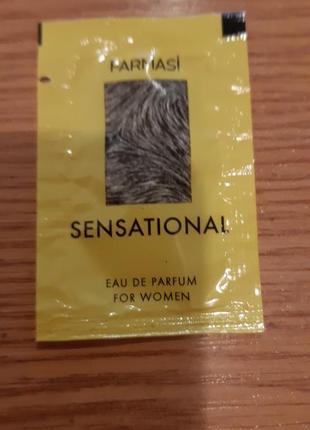 Сашет пробник женской парфюмированой водички сенсация фармаси