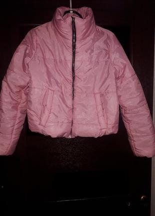 Укороченная молодежная куртка xs