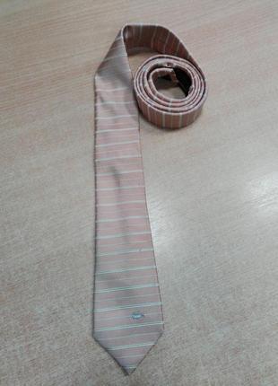 Светло-оранжевый галстук