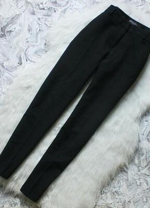 Новые черные прямые классические брюки штаны primark