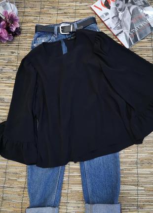 Классная чёрная блуза