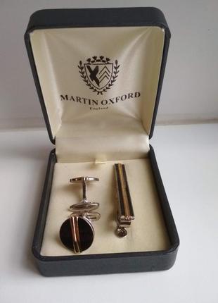 Стильные запонки martin oxford