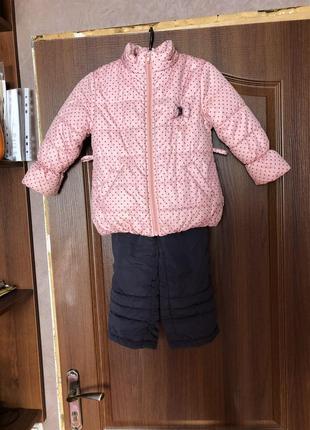 Зимний костюм от бемби